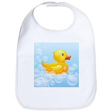 Duck in Bubbles Bib