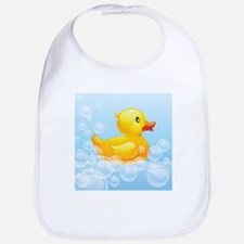Duck in Bubbles Bib