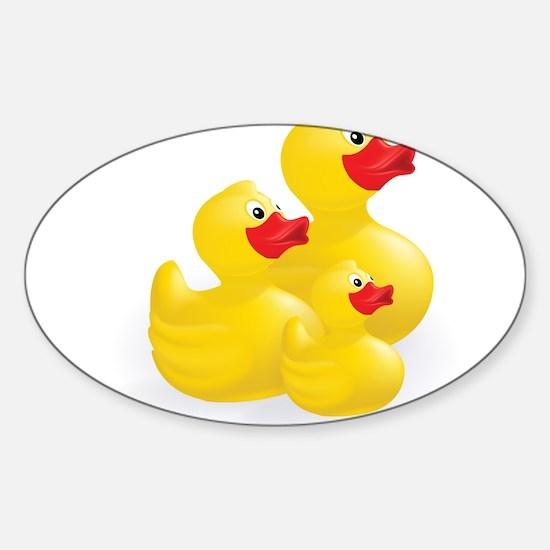 Trio of Ducks Decal