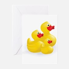 Trio of Ducks Greeting Cards