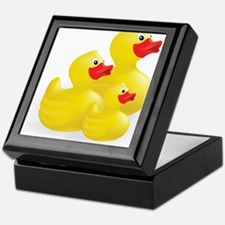 Trio of Ducks Keepsake Box