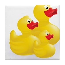 Trio of Ducks Tile Coaster