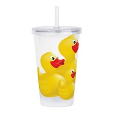 Trio of Ducks Acrylic Double-wall Tumbler