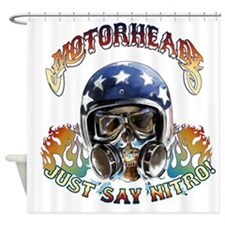 JUST SAY NITRO Shower Curtain