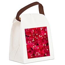 Bougainvillea Canvas Lunch Bag