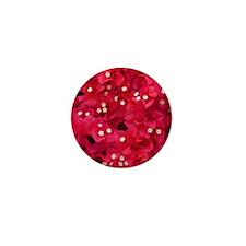 Bougainvillea Mini Button