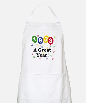 1933 A Great Year BBQ Apron