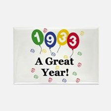 1933 A Great Year Rectangle Magnet