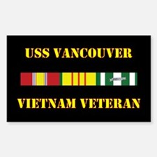 USS Vancouver Decal