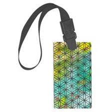 Sacred Geometry Luggage Tag