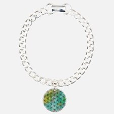 Sacred Geometry Charm Bracelet, One Charm