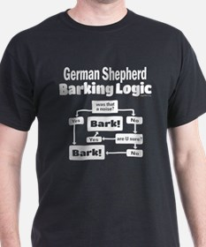 German Shepherd Logic T-Shirt