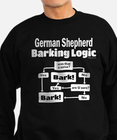 German Shepherd Logic Sweatshirt