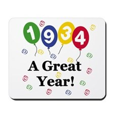 1934 A Great Year Mousepad