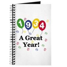 1934 A Great Year Journal
