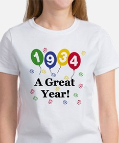 1934 A Great Year Women's T-Shirt