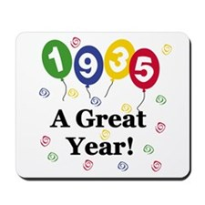 1935 A Great Year Mousepad