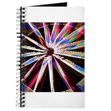 abstract colorful fair ride Journal