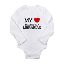 Cute Library Long Sleeve Infant Bodysuit
