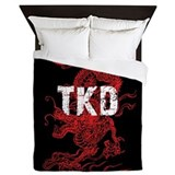 Taekwondo Queen Duvet Covers
