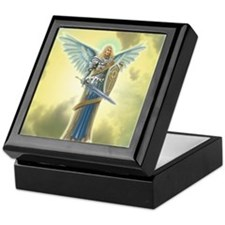 Angel Michael Keepsake Box