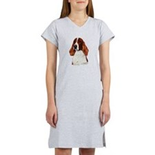 Irish Red & White Setter Women's Nightshirt