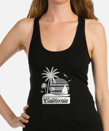 California Living Racerback Tank Top