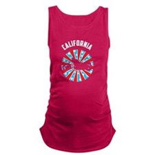 California Motorcycle Maternity Tank Top