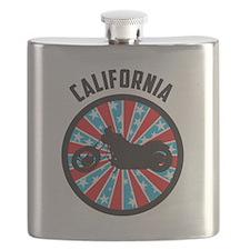 California Motorcycle Flask