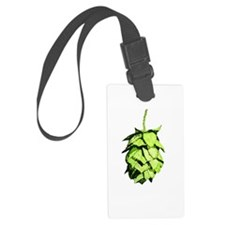 Graphical Hop Cone Luggage Tag