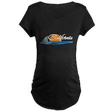 California Shark Maternity T-Shirt