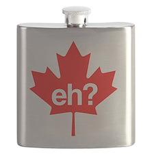 Canadian leaf eh. Flask