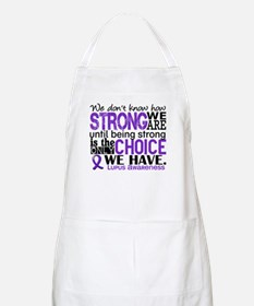 Lupus HowStrongWeAre Apron