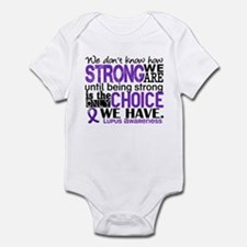 Lupus HowStrongWeAre Infant Bodysuit