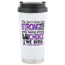 Lupus HowStrongWeAre Travel Mug