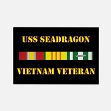 USS Seadragon Magnets