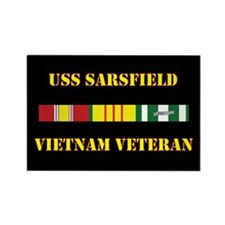 USS Sarsfield Magnets