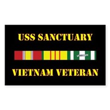 USS Sanctuary Decal