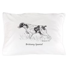 Brittany Spaniel Pillow Case
