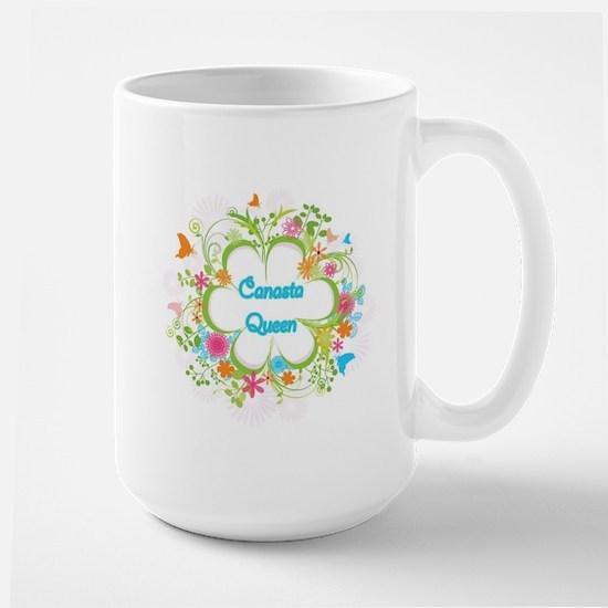 Canasta Queen Swirl Mugs