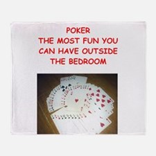 poker Throw Blanket
