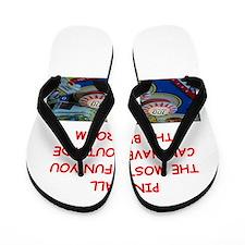 pinball Flip Flops
