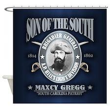 Maxcy Gregg Shower Curtain