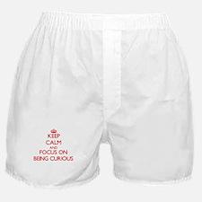 Unique Being curious Boxer Shorts