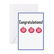 congratulationscondom Greeting Cards