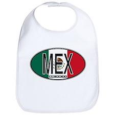 Mexico Colors Bib