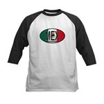 Mexico Colors Kids Baseball Jersey