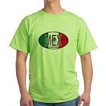 Mexico Colors Green T-Shirt