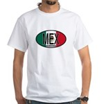 Mexico Colors White T-Shirt