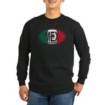Mexico Colors Long Sleeve Dark T-Shirt